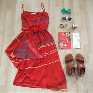 ✨HOST PICK✨Vintage Fiorella Paris midi dress